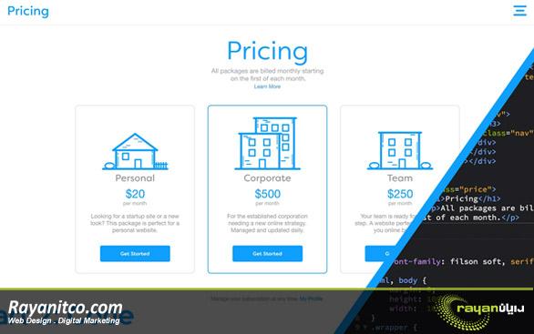 قیمت طراحی سایت در نروژ