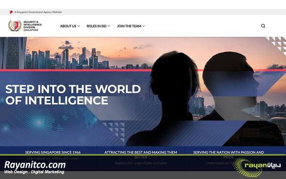 خدمات طراحی سایت در سنگاپور