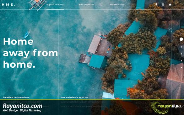 خدمات طراحی سایت در مالدیو
