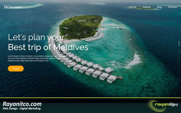 طراحی سایت در مالدیو در ایران